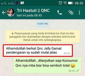 Testimoni Lain Dari Para Konsumen QnC Jelly Gamat
