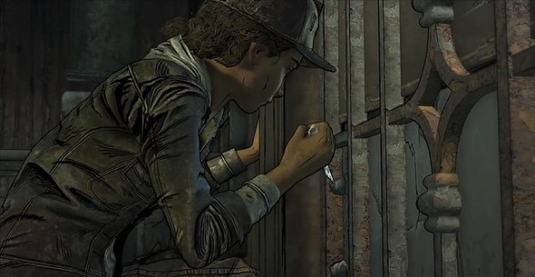 The Walking Dead EPisode 3 - Jail Cell