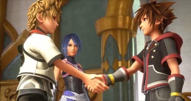 Kingdom Hearts 3 - Ven Meets Sora