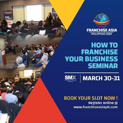 Franchise Asia Philippines 2019 - Open Business to Franchise