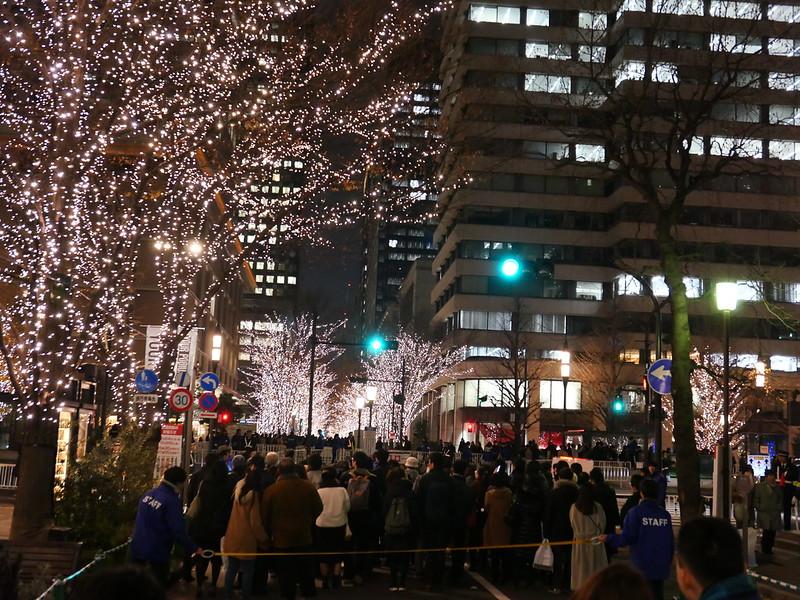 Tokyo Mitchiterasu waiting line