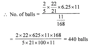 RD Sharma Class 10 Solutions Chapter 14 Surface Areas and Volumes Ex 14.1 47a