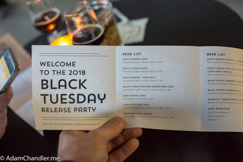 Black Tuesday Release Party Washington DC  October 2018