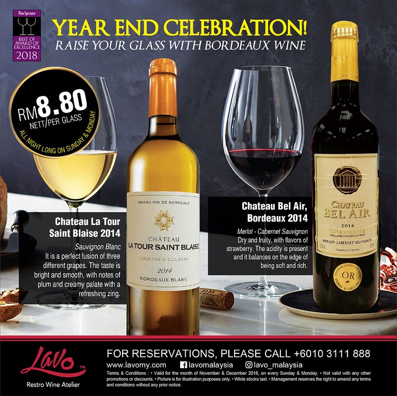 Lavo RM8.80 Wine