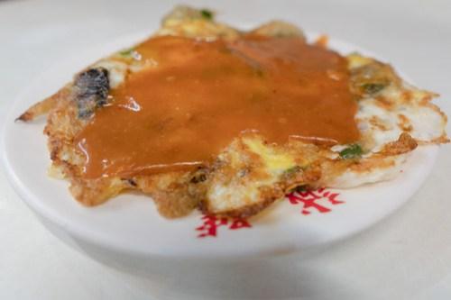 忠誠號 Zhong Cheng oyster pancake @ Shilin Night Market