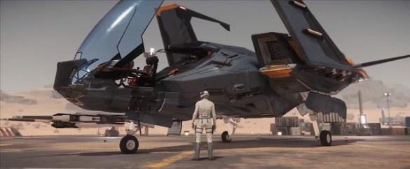 Star Citizen - Mustang Commercial
