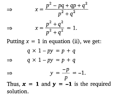 NCERT Solutions for Class 10 Maths Chapter 3 Pair of Linear Equations in Two Variables e7 7b