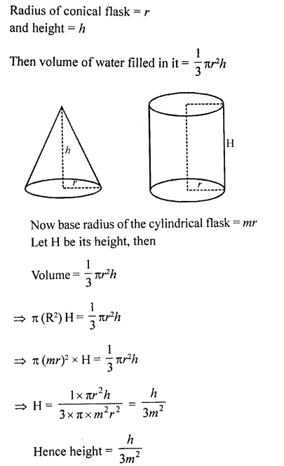 RD Sharma Class 10 Solutions Chapter 14 Surface Areas and Volumes Ex 14.1 37