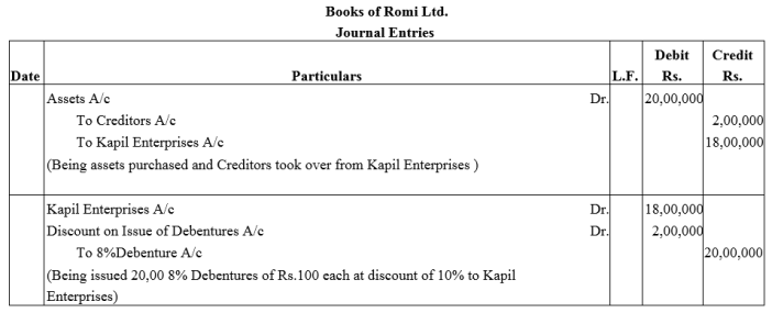 TS Grewal Accountancy Class 12 Solutions Chapter 9 Issue of Debentures Q25