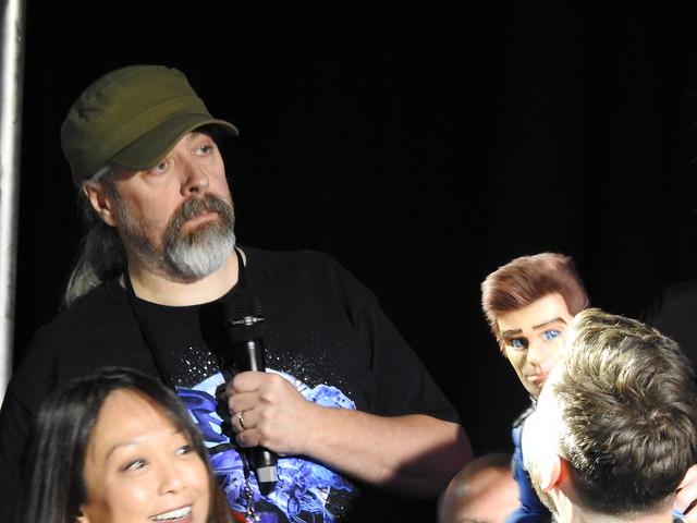 Firestorm panel - MCM Comic Con - Sam Payne Picture 3