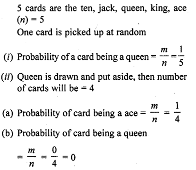 RD Sharma Class 10 Solutions Chapter 16 Probability Ex 16.1 37