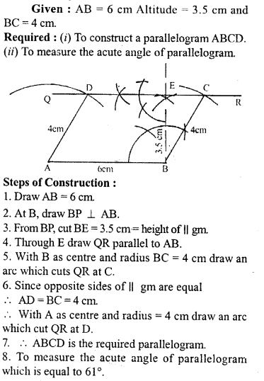 ML Aggarwal Class 9 Solutions for ICSE Maths Chapter 13 Rectilinear Figures  ex 2  13