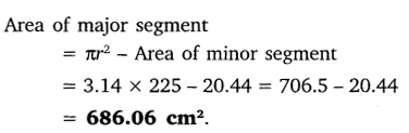 NCERT Solutions for Class 10 Maths Chapter 12 Areas Related to Circles 13