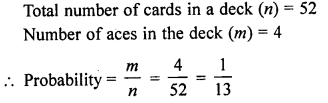 RD Sharma Class 10 Solutions Chapter 16 Probability VSAQS 8