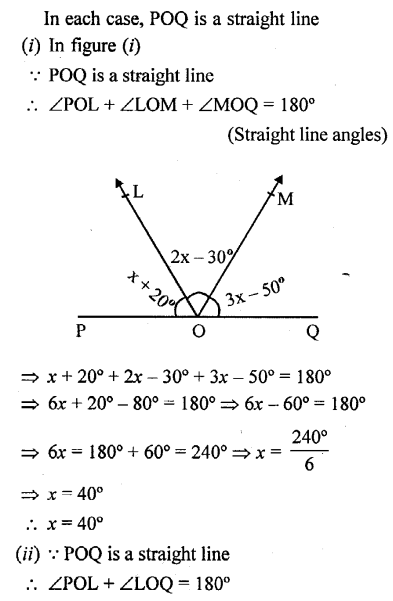 Selina Concise Mathematics Class 6 ICSE Solutions - Properties of Angles and Lines (Including Parallel Lines)-r7s.