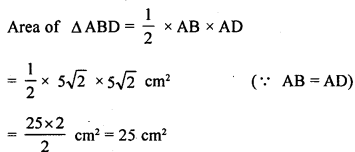 ML Aggarwal Class 9 Solutions for ICSE Maths Chapter 12 Pythagoras Theorem     14b