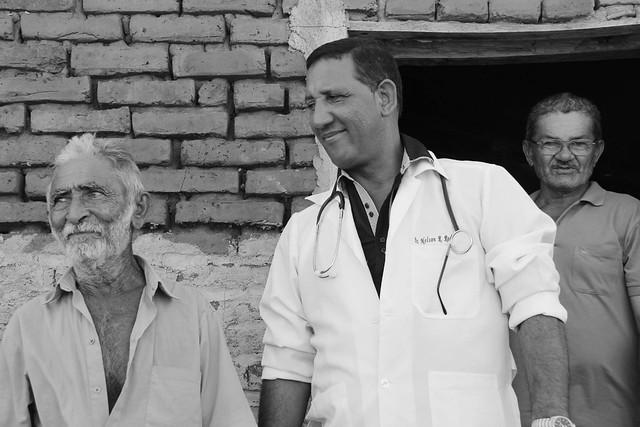 Nelson, médico cubano que trabalhou em Cabrobó (PE) - Créditos: Pedro Carvalho Diniz