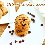 Oats chocolate chip cookies
