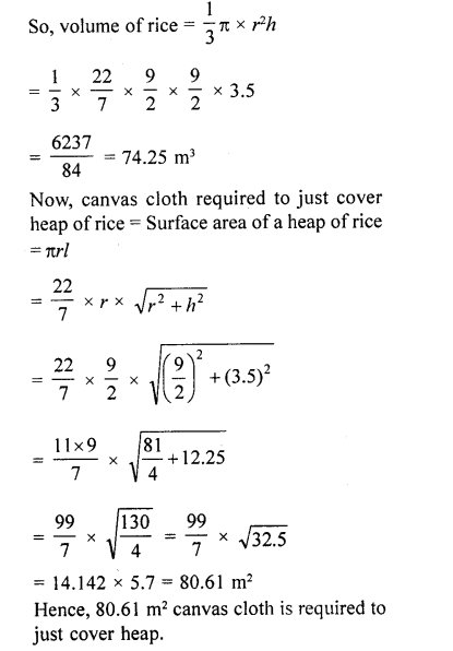 RD Sharma Class 10 Solutions Chapter 14 Surface Areas and Volumes Ex 14.1 68