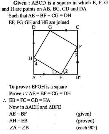 ML Aggarwal Class 9 Solutions for ICSE Maths Chapter 13 Rectilinear Figures  ex 21