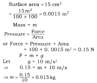 RBSE Solutions for Class 9 Science Chapter 9 Force and Motion.27