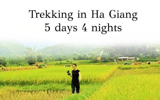 Ha giang trekking 5days 4 nights