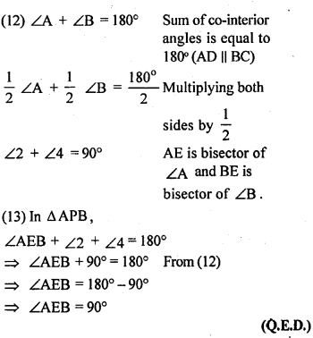 ML Aggarwal Class 9 Solutions for ICSE Maths Chapter 13 Rectilinear Figures  ex 18c