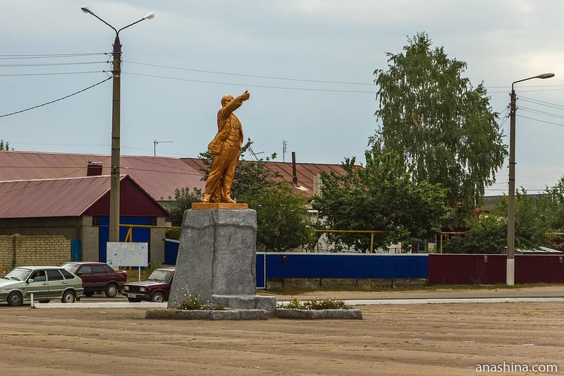 Памятник Ленину на площади Ленина, Петропавловка