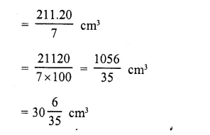RD Sharma Class 10 Solutions Chapter 14 Surface Areas and Volumes  RV 53b