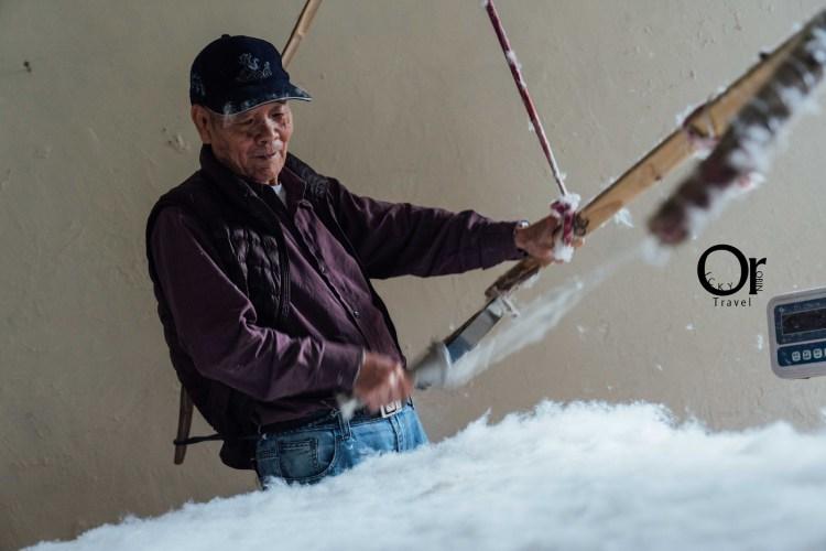 傳統製被|吉祥棉被行,藏在金山老街的棉被店,延續傳統手工製被堅持細節及客製化訂做發送全國