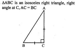 ML Aggarwal Class 9 Solutions for ICSE Maths Chapter 12 Pythagoras Theorem     9