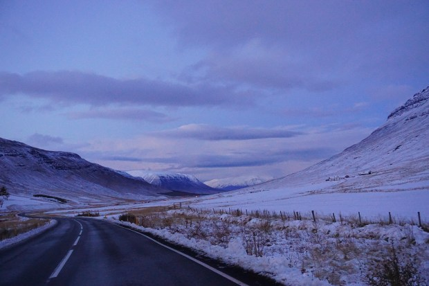 On the road to Akureyri, Northern Iceland