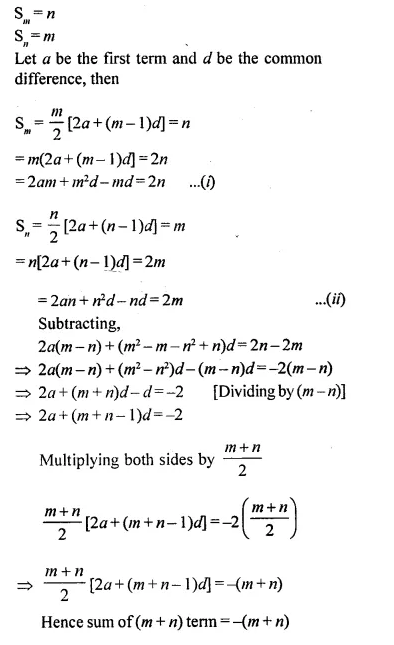 Selina Concise Mathematics Class 10 ICSE Solutions Chapterwise Revision Exercise 50
