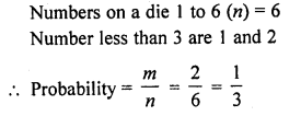 RD Sharma Class 10 Solutions Chapter 16 Probability VSAQS 12