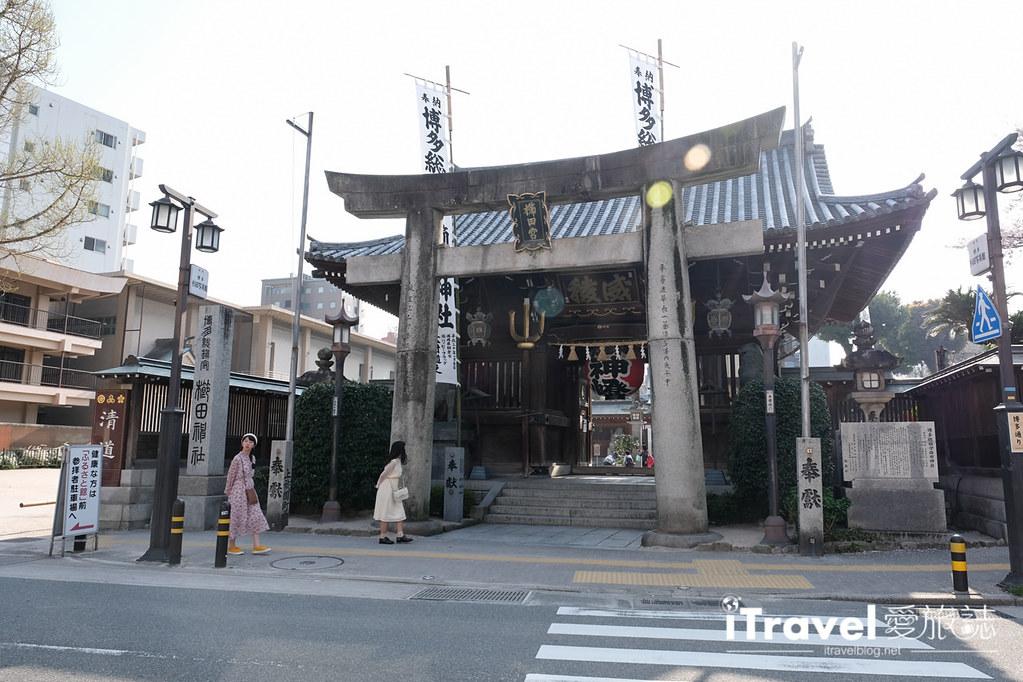 福岡賞櫻景點 櫛田神社 (2)