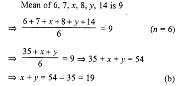 RD Sharma Class 10 Solutions Chapter 15 Statistics MCQS 22