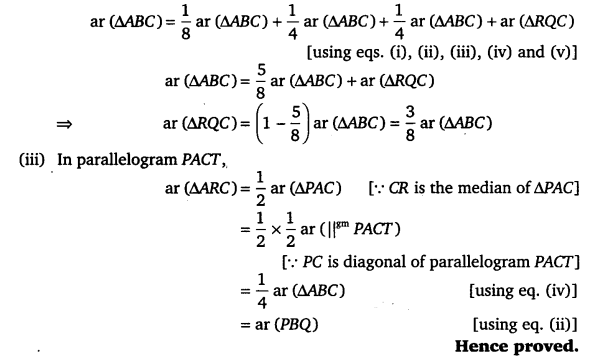 NCERT Solutions for Class 9 Maths Chapter 9 Area of parallelograms and Triangles 49