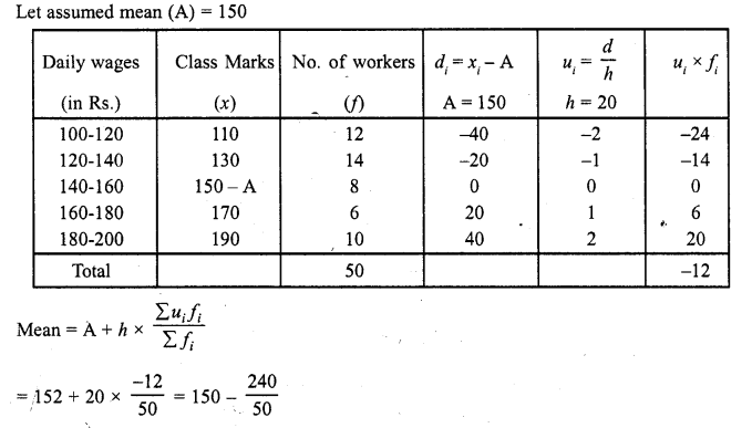 RD Sharma Class 10 Solutions Chapter 15 Statistics Ex 15.3 3a