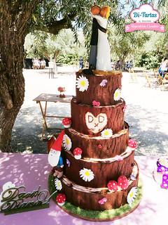 tarta boda dandi