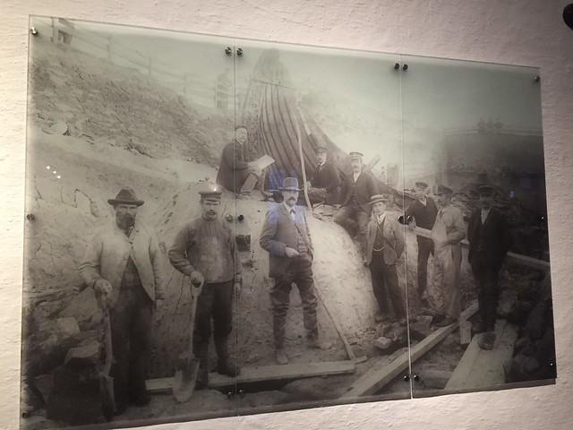 The excavation team