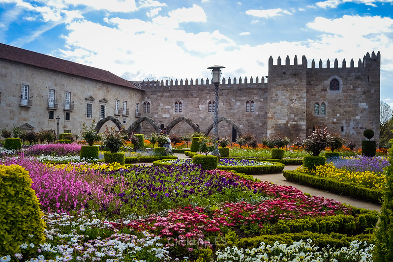 · Jardines de Santa Bárbara, Braga ·