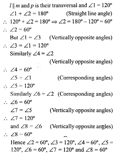 Selina Concise Mathematics Class 6 ICSE Solutions - Properties of Angles and Lines (Including Parallel Lines)-b3a
