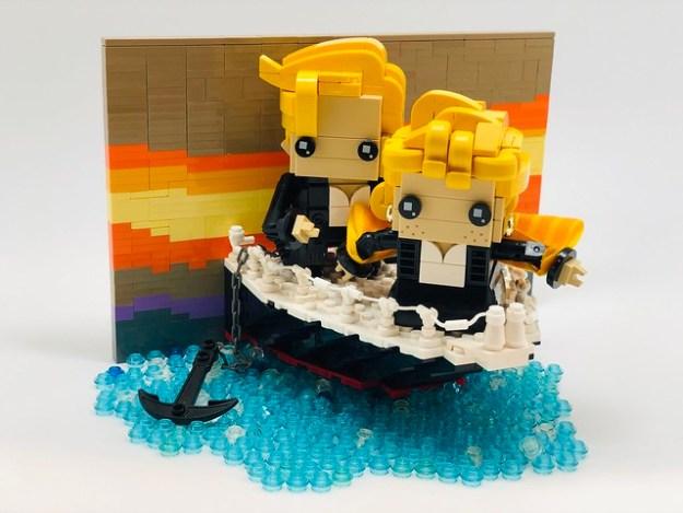 泰坦尼克(露丝和杰克)