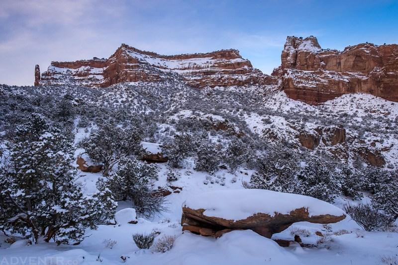 Wedding Canyon Snow