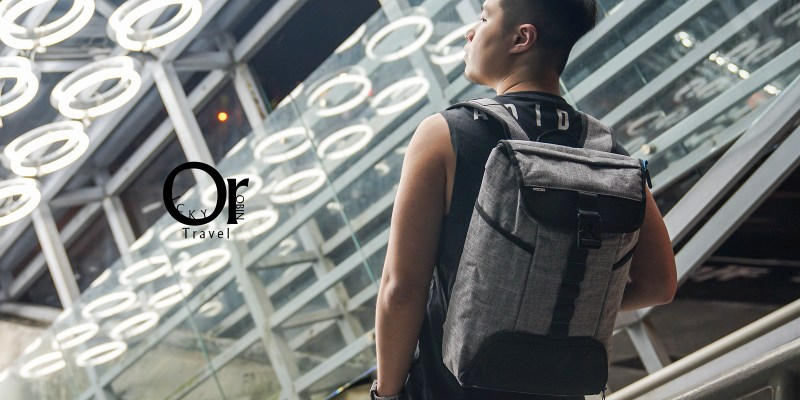背包開箱|bagrun 城市機能健身電腦後背包 - 運動用品收納沒問題,輕盈設計背負無負擔