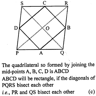 ML Aggarwal Class 9 Solutions for ICSE Maths Chapter 11 Mid Point Theorem    mcq 4