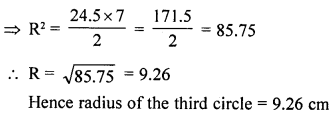 RD Sharma Class 10 Solutions Chapter 13 Areas Related to Circles Ex 13.1 26a