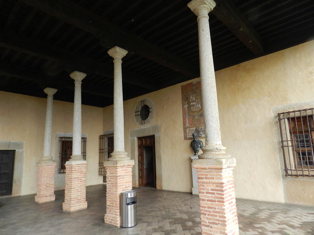 piso superior Palacio Carlos V Monasterio San Jeronimo de Yuste Cuacos de Yuste Caceres