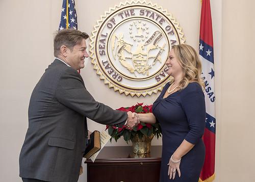 12-3-18 Gina Radke Oath of Office