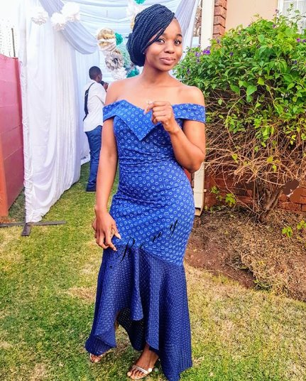 Shweshwe Dresses Archives , Reny styles